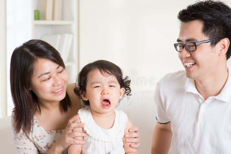 crying toddler στοκ φωτογραφία με δικαίωμα ελεύθερης χρήσης