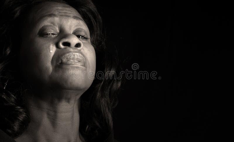 crying woman στοκ εικόνες