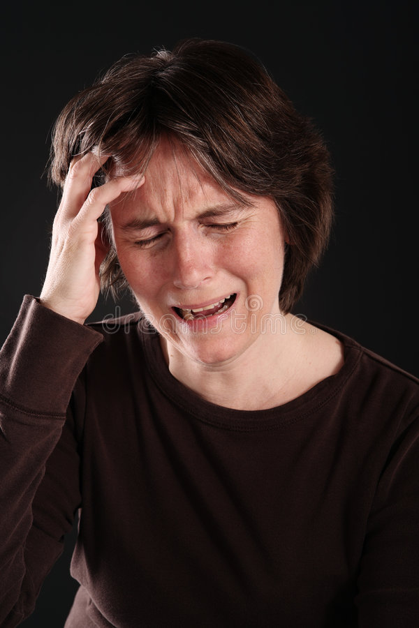 Crying Woman Royalty Free Stock Images