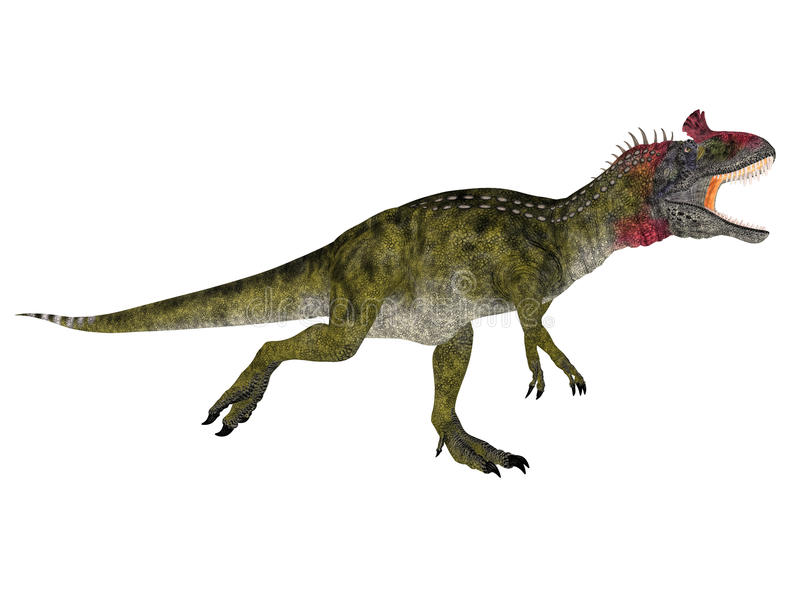 Cryolophosaurus illustrazione di stock