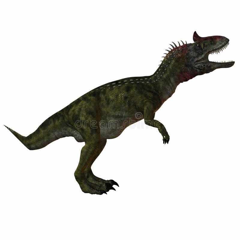 Cryolophosaurus ilustração royalty free