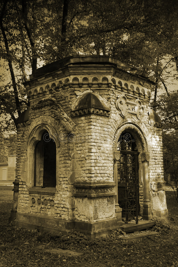 Crypt royalty free stock image