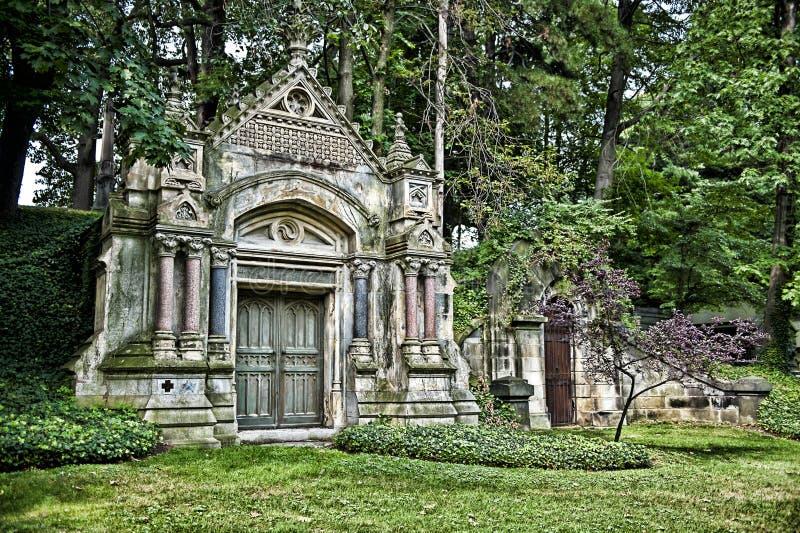 Download Crypt or Mausoleum stock image. Image of brick, door - 25072363