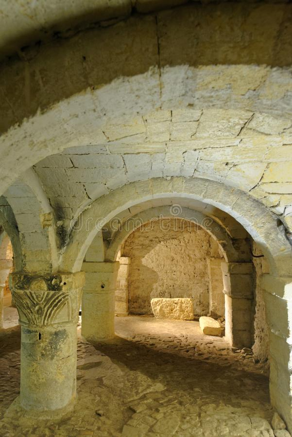 The Crypt Of St George`s Chapel royalty free stock photography