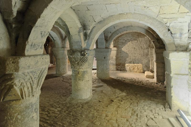 The Crypt Of St George`s Chapel royalty free stock images