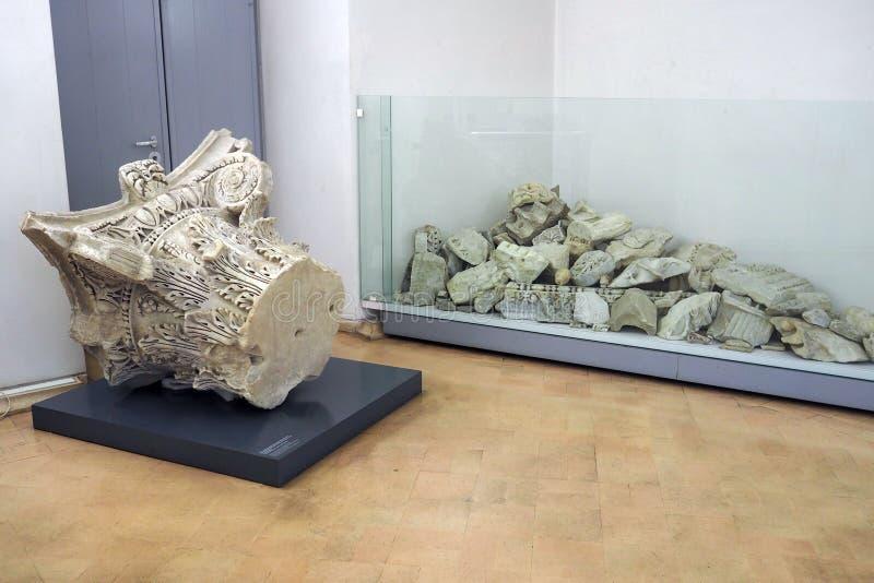 Crypta Balbi Museum in Rome, Italy stock images