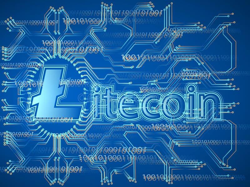 Crypto σύμβολο νομίσματος ελεύθερη απεικόνιση δικαιώματος