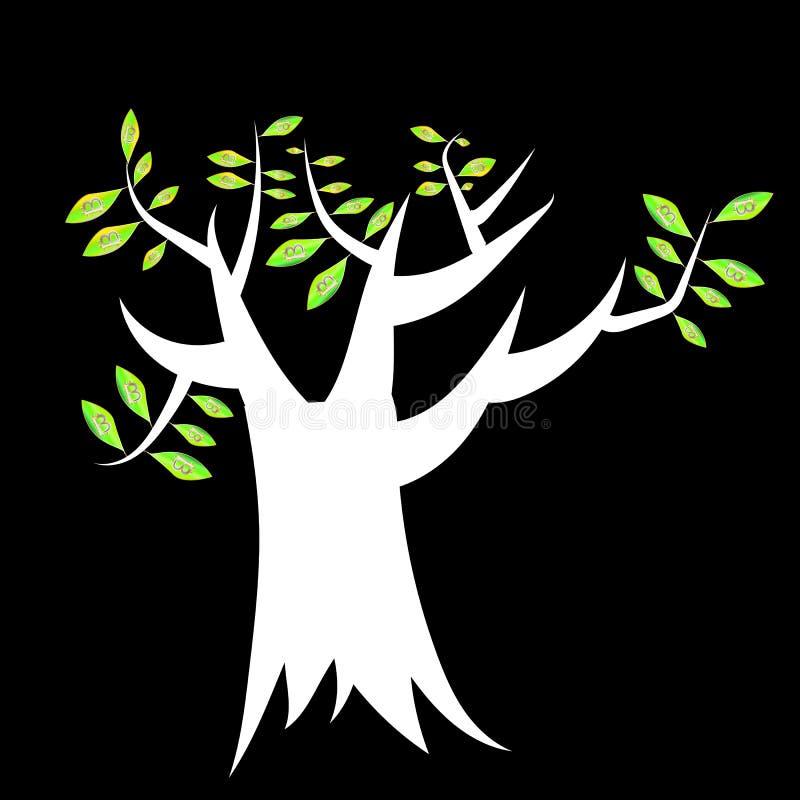 Crypto arbre de devise photographie stock