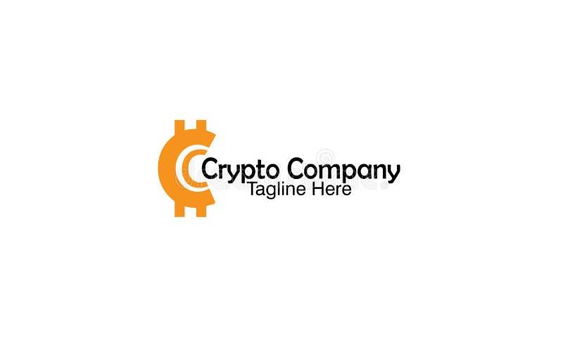 Crypto Bedrijf royalty-vrije stock afbeelding