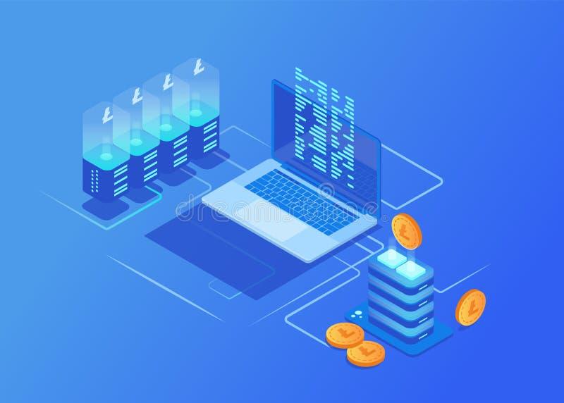 Cryptocurrency mining data usage