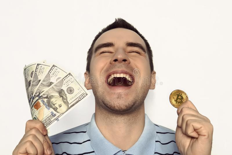 Download Crypto Valuta, Faktiskt Pengar-, Internet- Och Nationalekonomibegrepp Arkivfoto - Bild av protokoll, netto: 106836568