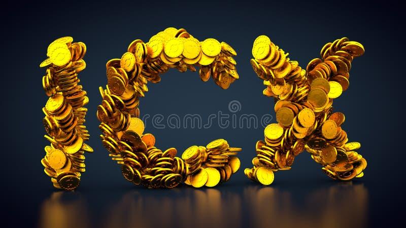 Crypto valutaSYMBOLSsymbol stock illustrationer