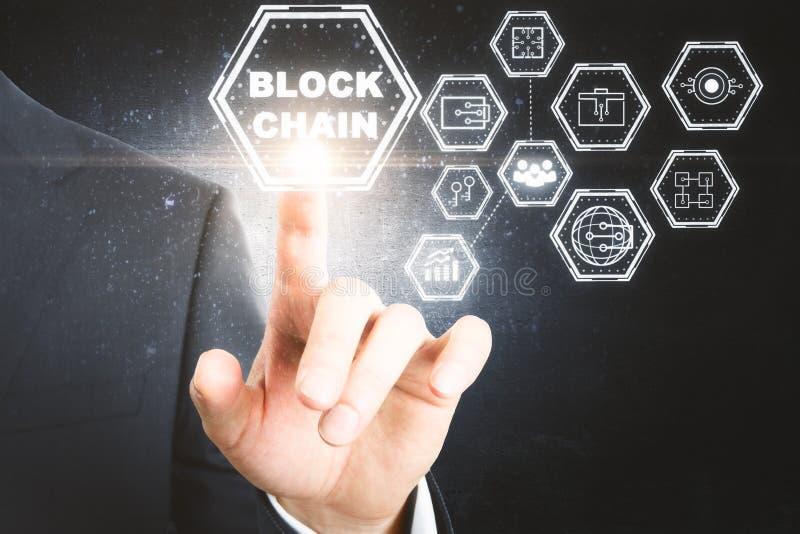 Cryptocurrency和付款概念 免版税库存照片