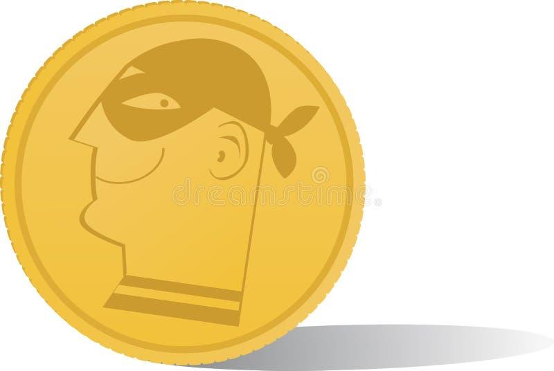 Cryptocurrency royalty-vrije illustratie