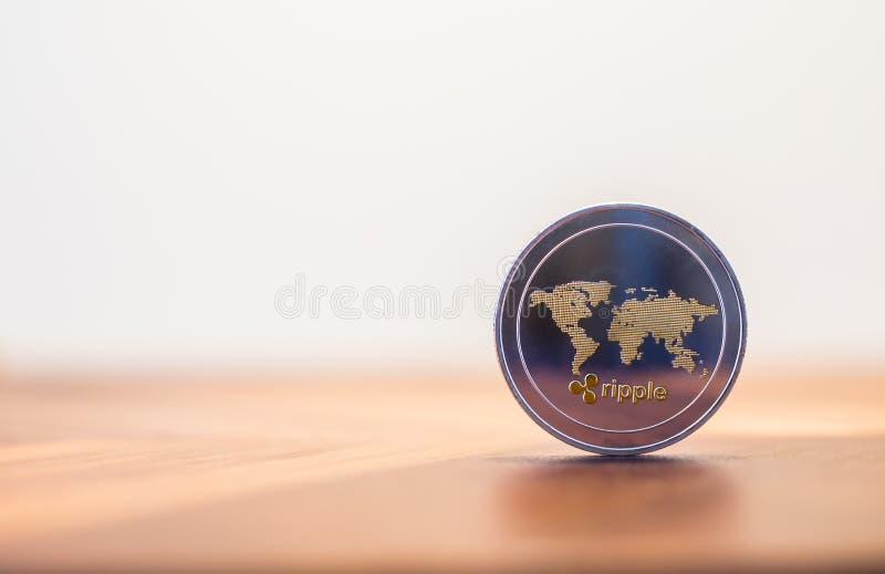 Cryptocurrency czochry monety światowej mapy znak, biały tło obrazy stock