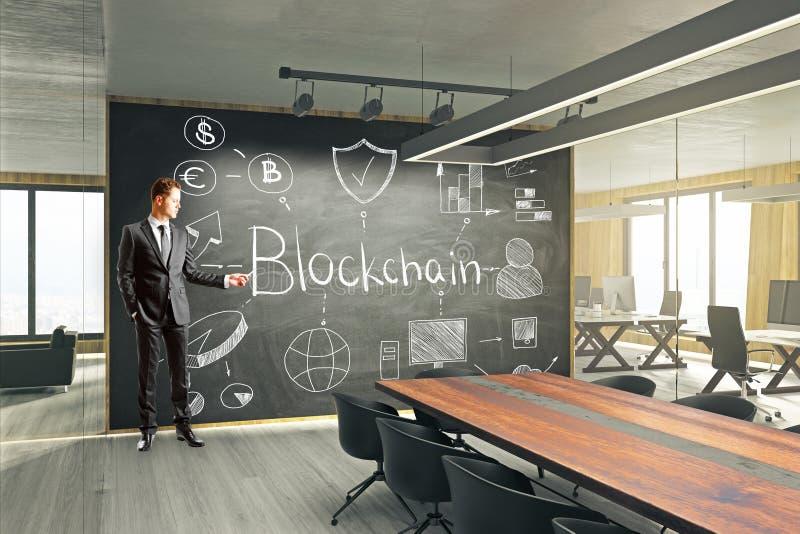 Cryptocurrency e conceito do cyber fotos de stock