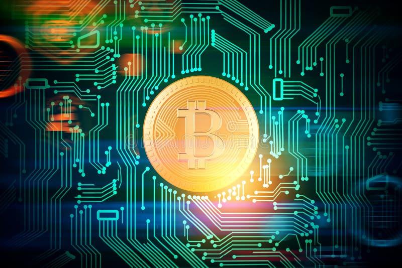 Cryptocurrency och betalningbegrepp vektor illustrationer