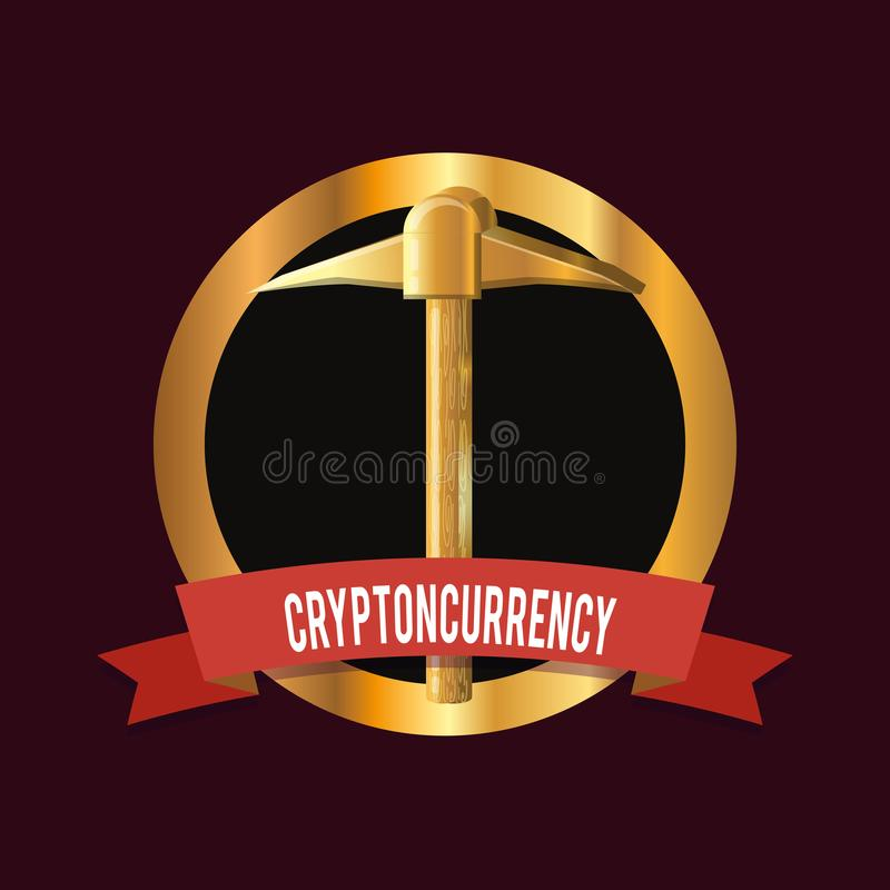 Cryptocurrency pojęcia projekt ilustracji