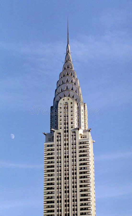 Chrysler Building, New York USA stock images