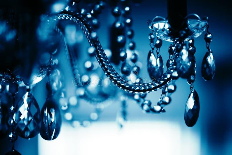 crystal żyrandol fotografia royalty free