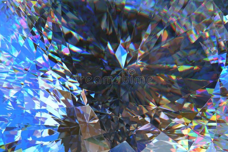Crystal Abstract stock illustratie