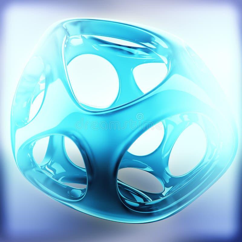 Crystal Abstract Smyckenbegrepp vektor illustrationer