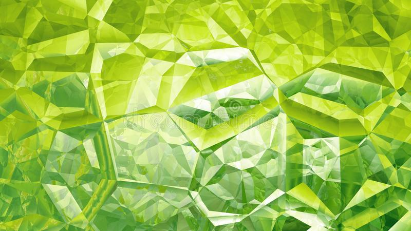 Crystal Background Image verde abstracto libre illustration