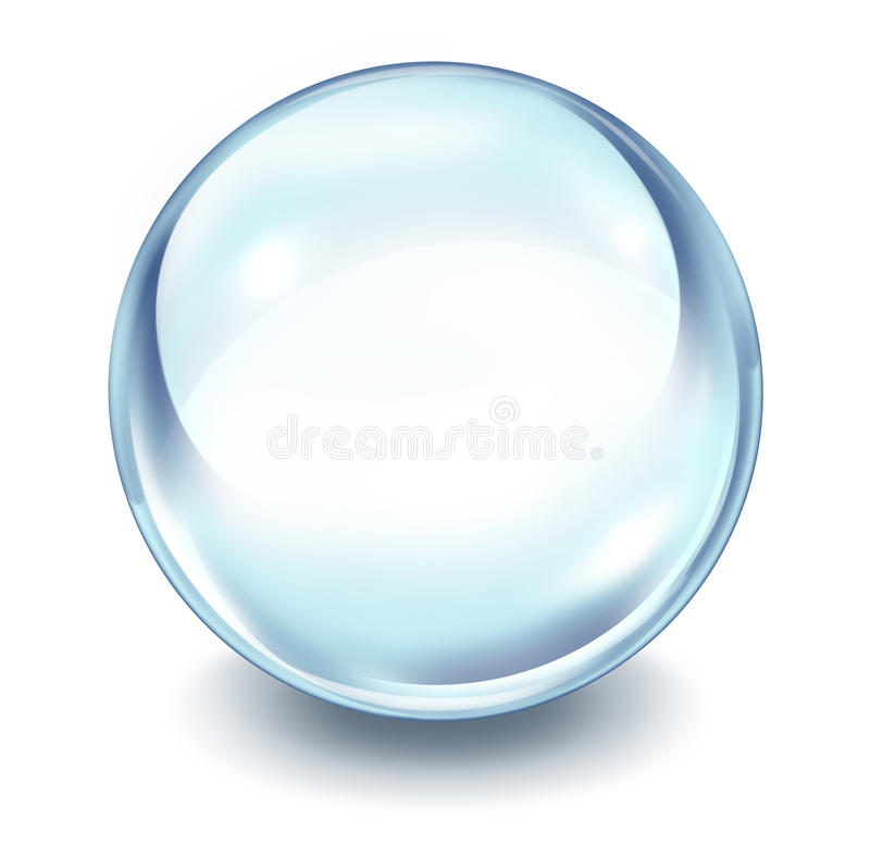 Download Crystal ball stock illustration. Image of telling, magic - 22694597