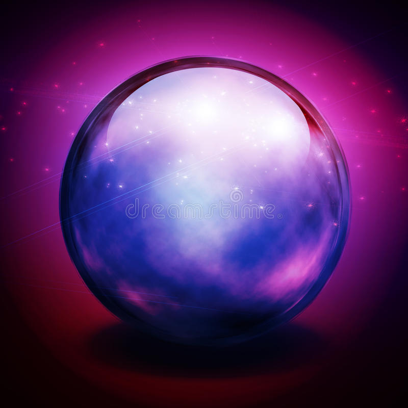 Crystal Ball stock illustration
