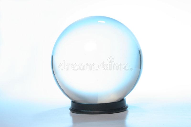 Download Crystal Ball stock photo. Image of ball, glass, translucent - 2993492