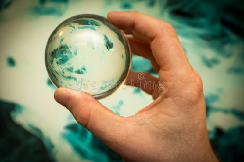 Crystal Ball Galaxy fotografia de stock