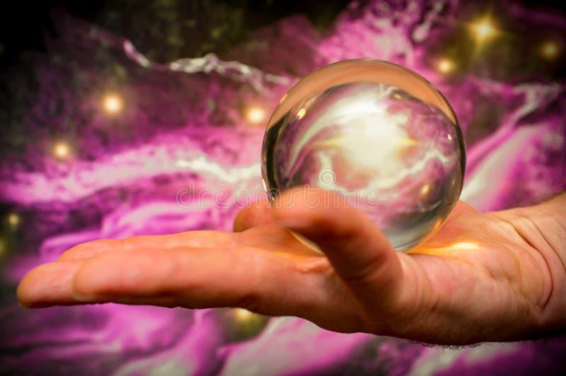 Crystal Ball Galaxy lizenzfreie stockfotos