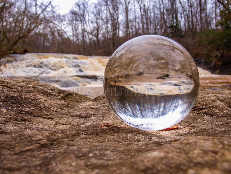 Crystal Ball Inverts Image stock afbeeldingen