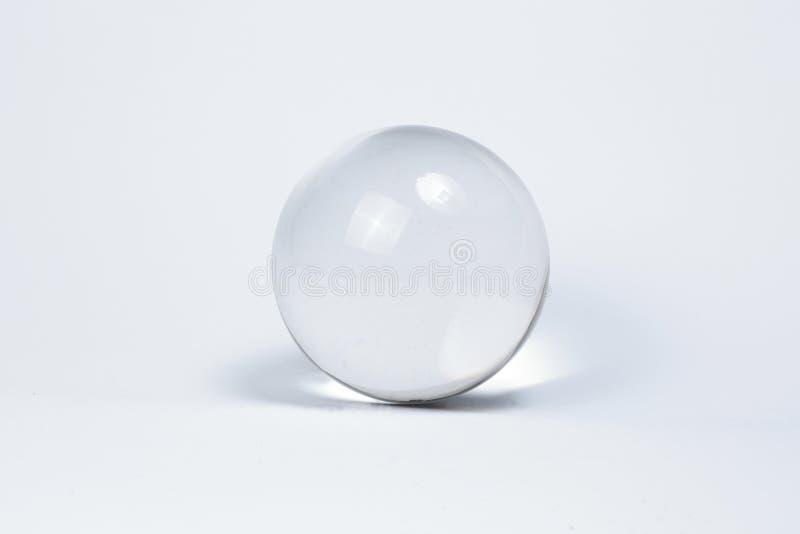 Crystal Ball Marbles glass stock photos