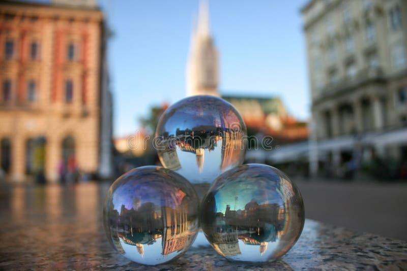 Crystal Balls imágenes de archivo libres de regalías