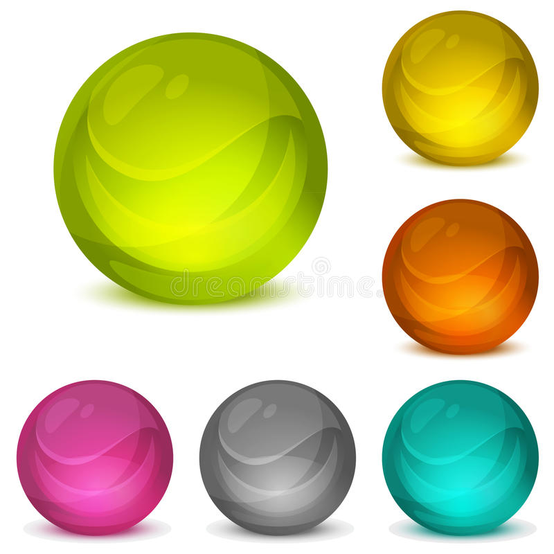 Free Crystal Balls Stock Photography - 15005032