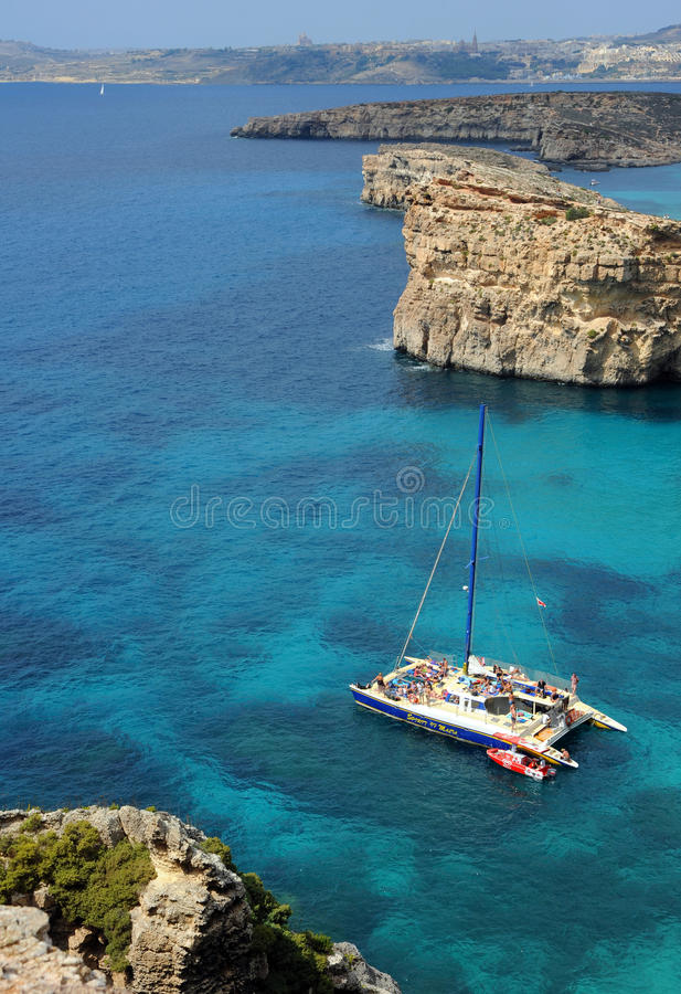 Download Crystal Bay, Comino Island, Malta. Editorial Photography - Image: 26789972