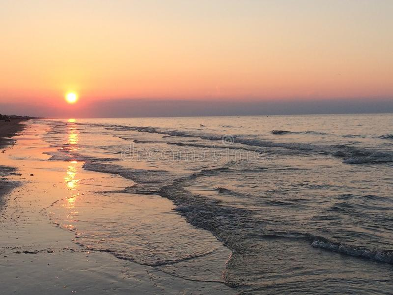 Crystal Beach stockfotografie