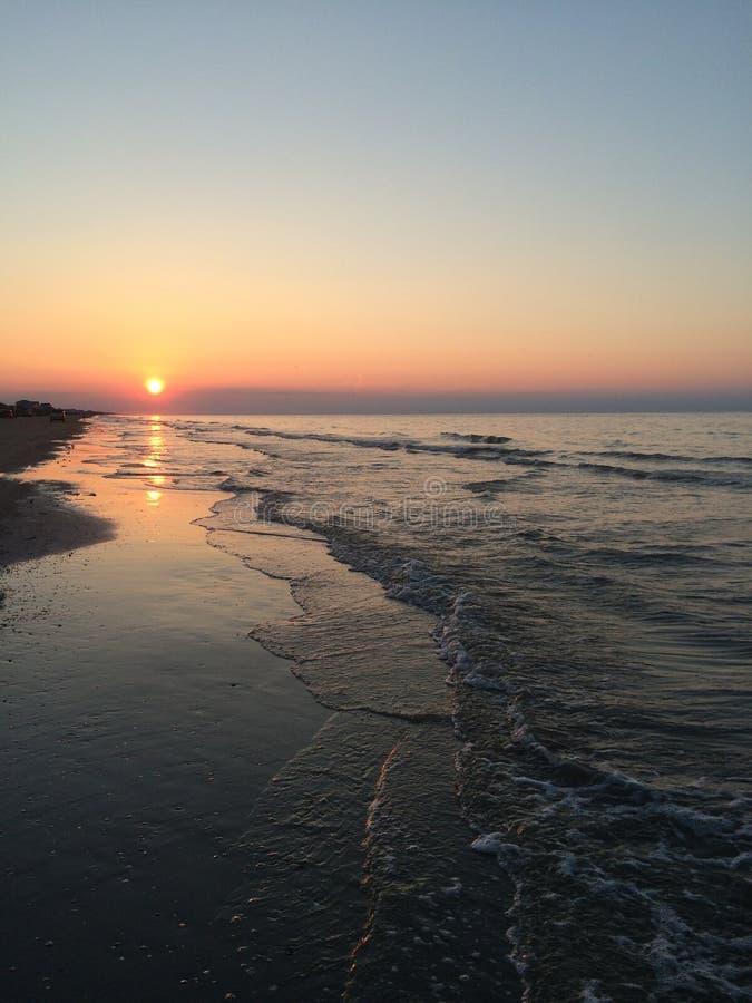 Crystal Beach Sunrise image stock