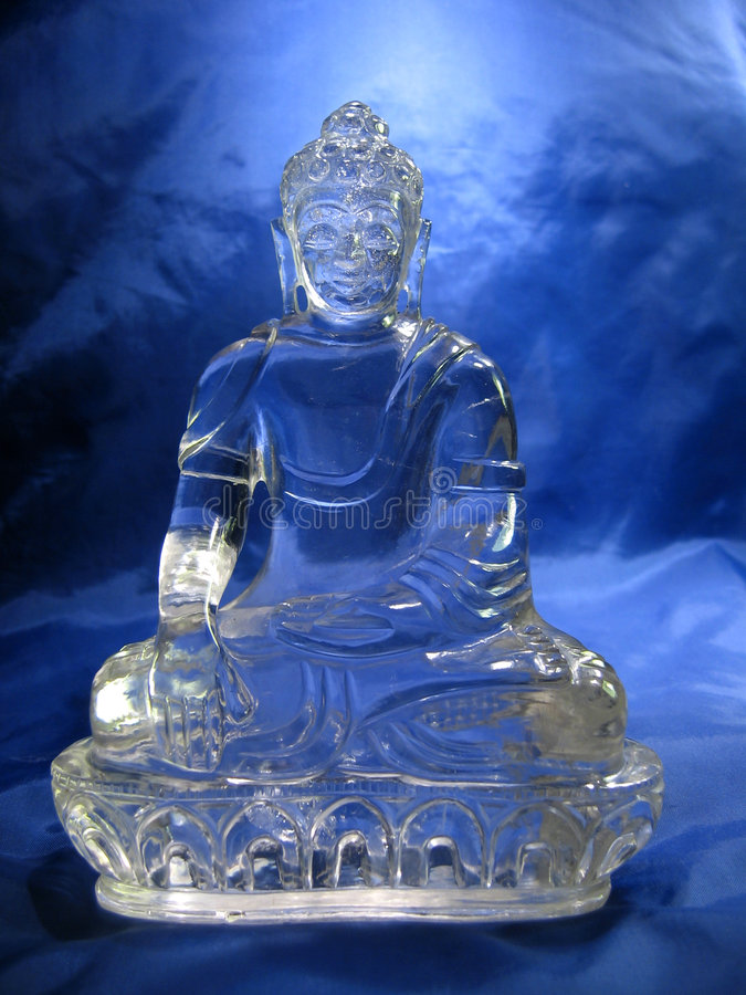 Download Crystal Buddha stock image. Image of conscientiousness - 2057995