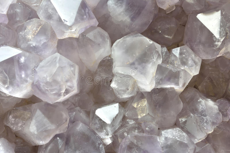 Crystal Calcite mine. Background in crystal and shape of calcite mine, shown as beautiful and featured color, pattern and texture stock photography