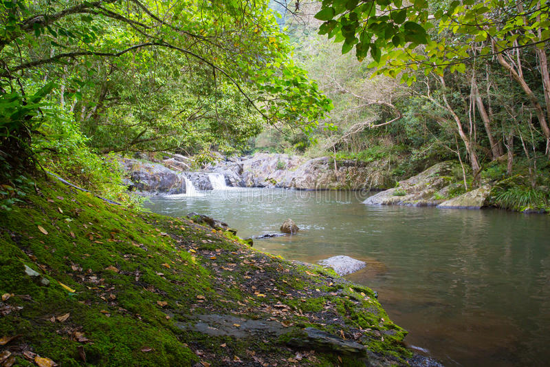 Download Crystal Cascades Landscape image stock. Image du idyllique - 76088049