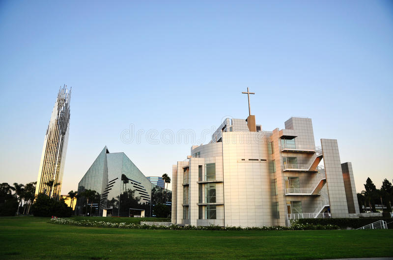 The Crystal Cathedral stock image