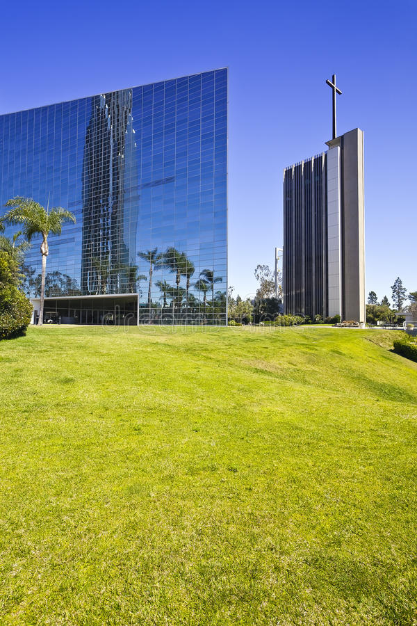 Crystal Cathedral Stock Photo