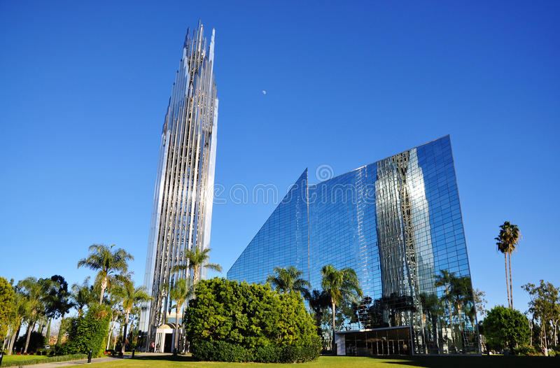 Crystal Cathedral royalty-vrije stock foto