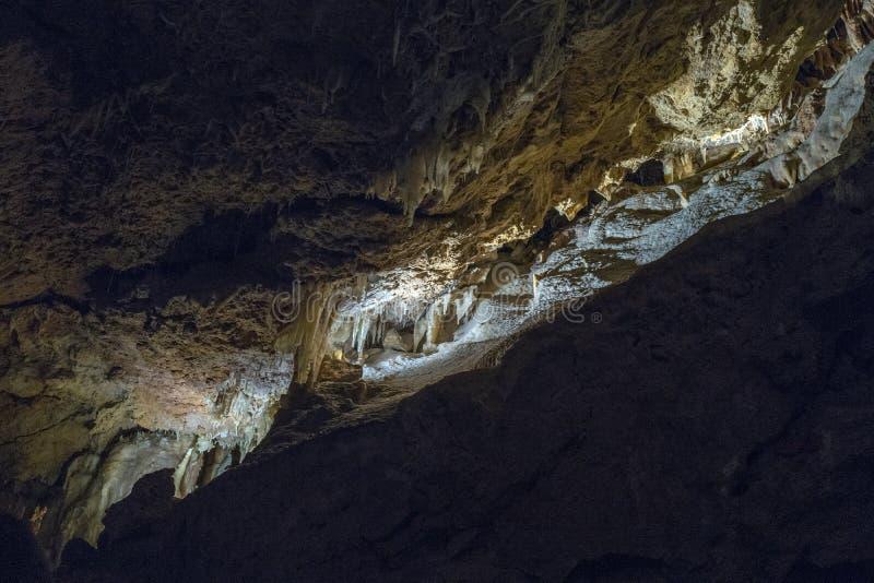 Crystal Cave, parco nazionale di Yanchep; L'Australia immagine stock libera da diritti