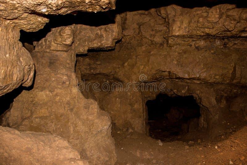 Crystal Cave wordt gevestigd dichtbij de Grens van Wisconsin/van Minnesota in S stock foto