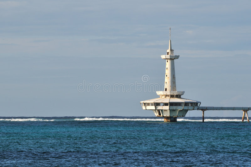 Download Crystal Cay Lighthouse,  Bahamas Stock Photo - Image: 8699550