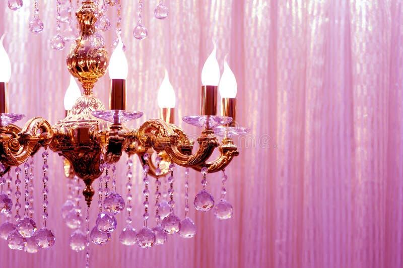 Download Crystal chandelier stock image. Image of design, dark - 17494003