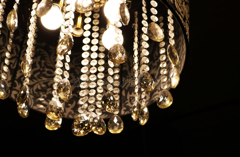 Crystal Chandelier imagem de stock royalty free